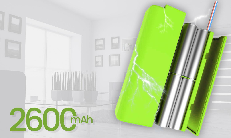 Duża bateria o pojemności 2600mAh .