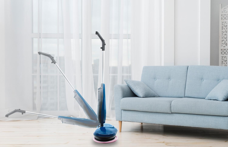 Mop elektryczny możesz zginać pod katem 90 stopni