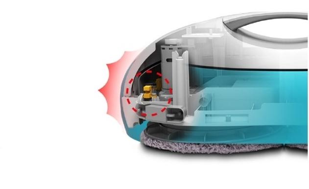Zaawansowane czujniki Moneual Everybot RS500