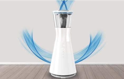 Trzy drogi oczyszczania powietrza Moneual Dual Care+ MA800