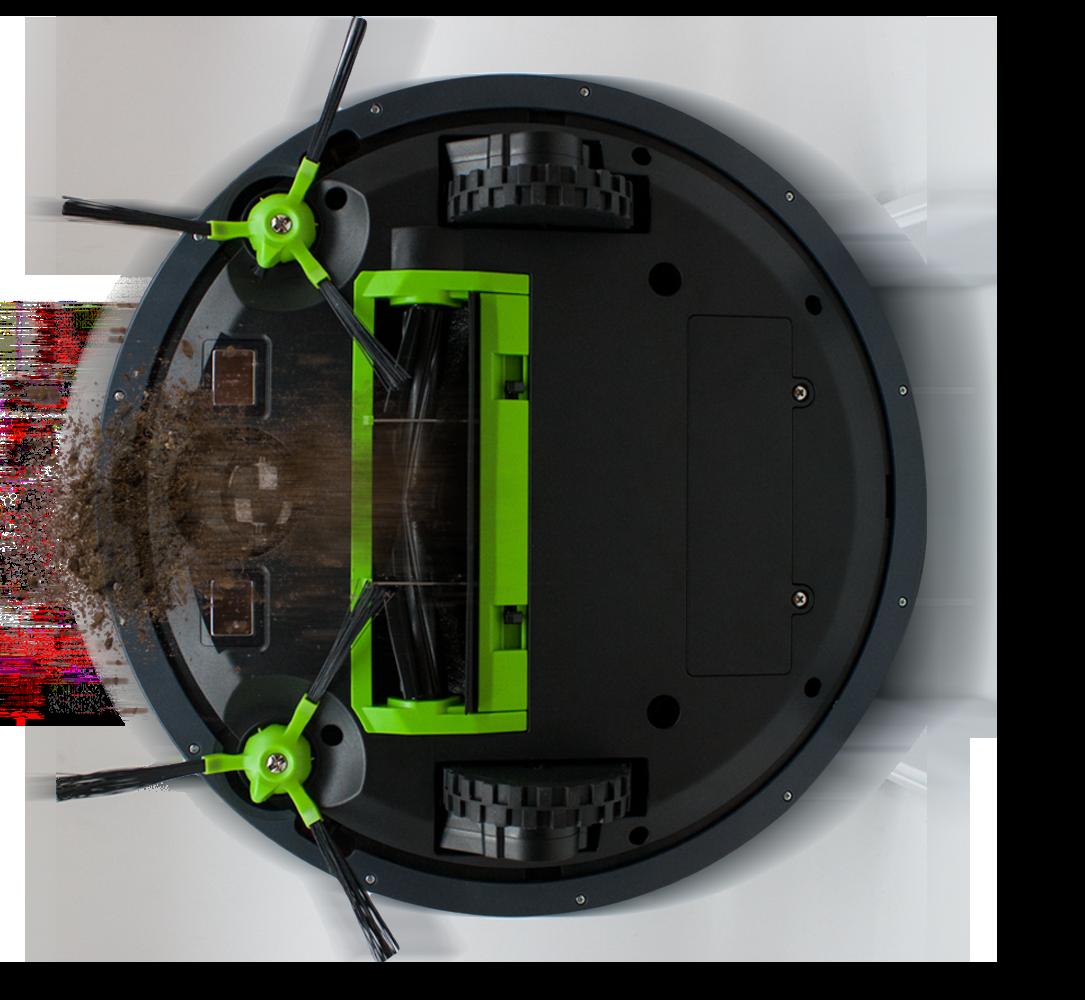 System sprzątania - Automatyczny odkurzacz Moneual MBOT 900