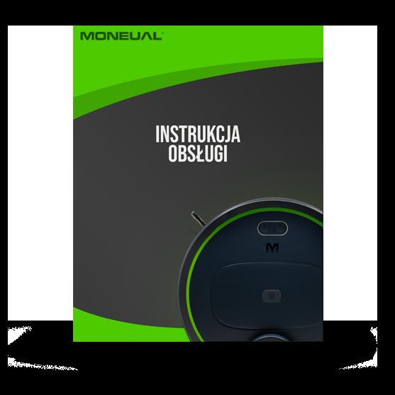 Instrukcja obsługi - Automatyczny odkurzacz Moneual MBOT 900