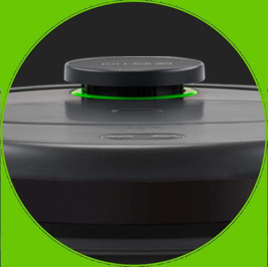 LDS Lidar - głowica nawigacyjna - Automatyczny odkurzacz Moneual MBOT 900