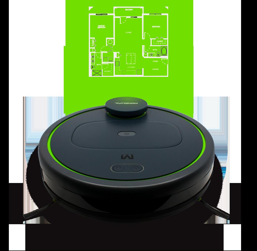 Moneual MBOT 900 - LIDAR - Automatyczny odkurzacz Moneual MBOT 900