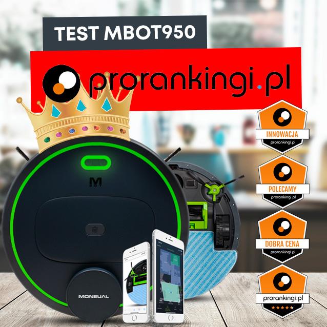 Moneual MBOT 950 | Najobszerniejszy test na  - Prorankingi.pl