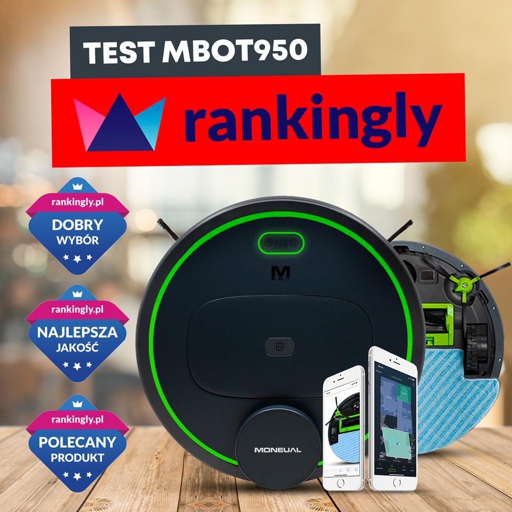Moneual MBOT 950 – obszerny test | rankingly.pl