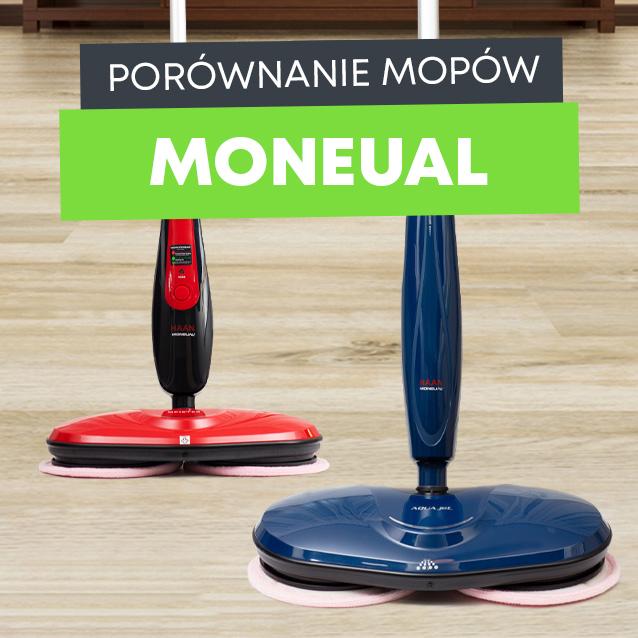 Porównanie mopów Moneual