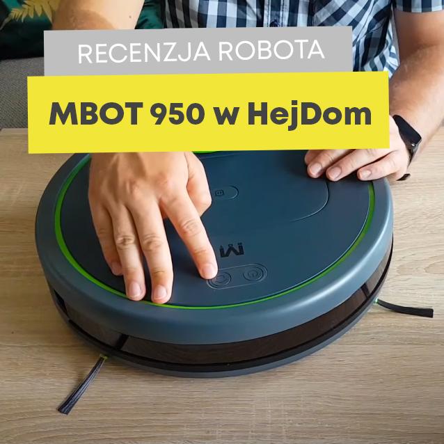 Testy robota sprzątającego Moneual MBOT 950 w HejDom! – otrzymaliśmy kolejną zachwalającą recenzję!